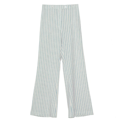 Stripe color pants(blue)