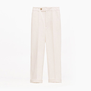 Linen baggy trouser(off-white)