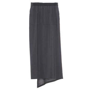 Slit skirt(dark grey)