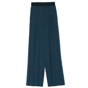 easy wide pants(green)