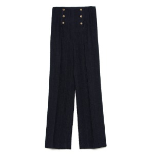 Button pants(navy)